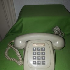 Vintage: ANTIGUO TELÉFONO TECLADO GRIS CITESA MALAGA. Lote 178885966