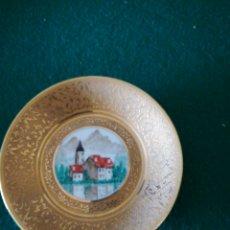 Vintage: PEQUEÑO PLATO DECORADO. Lote 171317113
