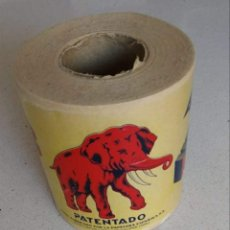 Vintage: ROLLO PAPEL HIGIÉNICO EL ELEFANTE.. Lote 171545758