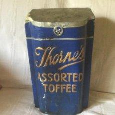 Vintage: DECORACIÓN DE ANTIGUA CHOCOLATERÍA JHORNE´S ASSORTED TOFFEE. Lote 171612662