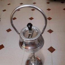 Vintage: CENICERO DE METAL CROMADO DE SALÓN DE PIE. 60 CMS. ALTURA.. Lote 171823488