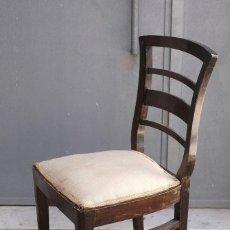 Vintage: SILLA DE MADERA. AÑOS 40. Lote 171979097