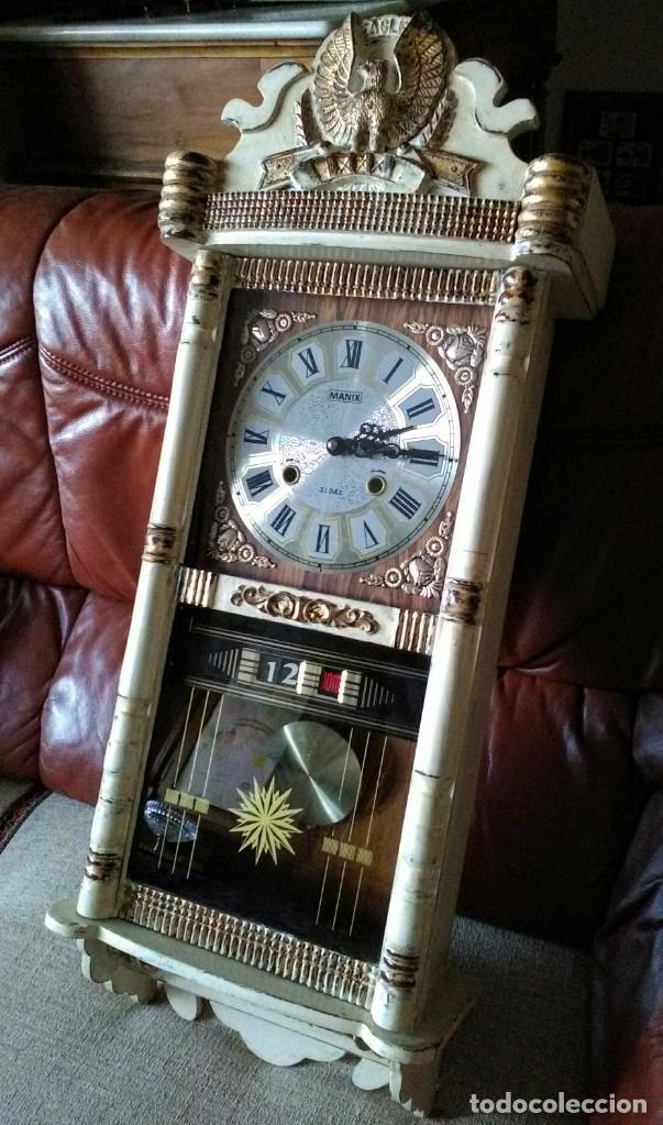 Vintage: Reloj de pared - Foto 2 - 172075383
