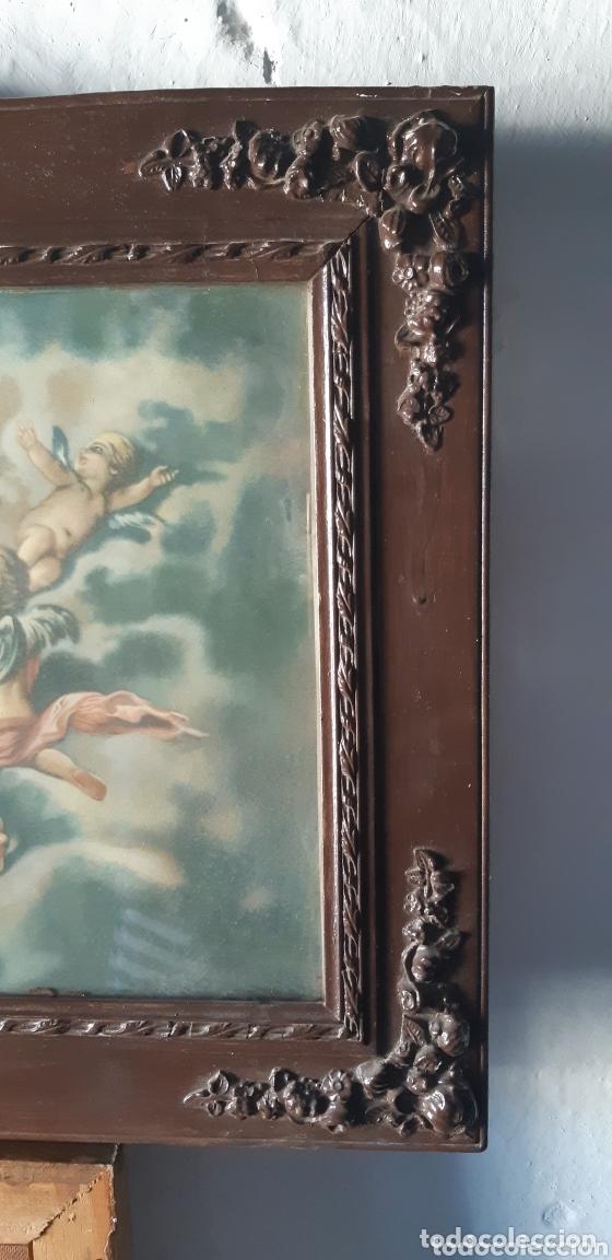 Vintage: Lámina muy antigua con motivos religiosos - Foto 4 - 172423413