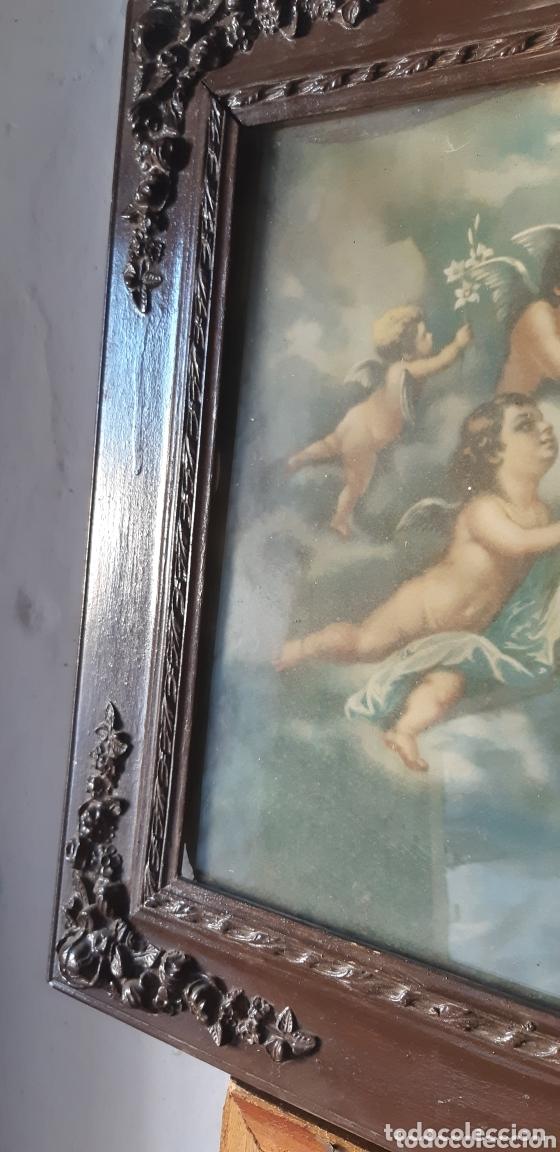 Vintage: Lámina muy antigua con motivos religiosos - Foto 5 - 172423413