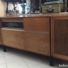 Vintage: PRECIOSO MUEBLE TOCADISCOS BAYREUTH STUDIO 101 TELEFUNKEN(RARO).1966 MCM VINTAGE.. Lote 172746178