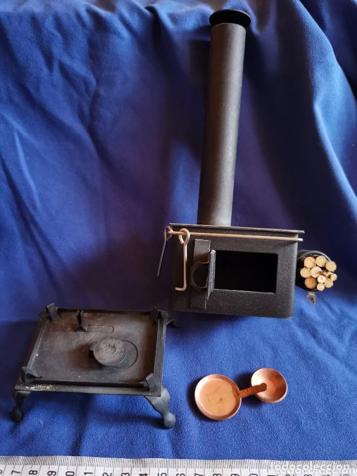 Vintage: Raro incensario, cocina antigua de hierro - Foto 2 - 172767230