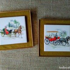 Vintage: MARCOS CON AZULEJOS. Lote 173009343
