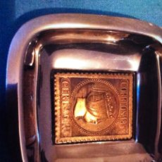 Vintage: 4 CENICEROS ANTIGUOS CON CAJA. Lote 173602805