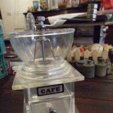 Vintage: MOLINILLO DE CAFE BONKA - METACRILATO GRANDE PERFECTO ESTADO. Lote 173816270