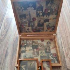 Vintage: CAJA ESCRITORIO, SIN USAR. Lote 174237155