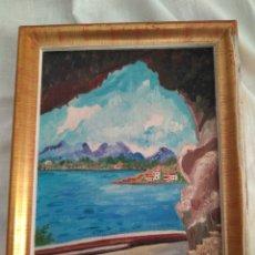 Vintage: CUADRO. PAISAJE ARTÁ 1964. Lote 174345343
