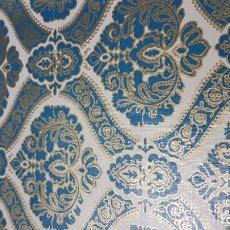 Vintage: ANTIGUOS PRECIOSOS 9 ROLLOS PAPEL PINTADO MODERNISTA EMPAPELAR-FORRAR 10MX53CM .ART DECO-45MCUADRADO. Lote 174411159