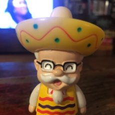 Vintage: FIGURA KFC CORONEL SANDERS. GOMA 8 CMS. MEXICANO. Lote 174655748