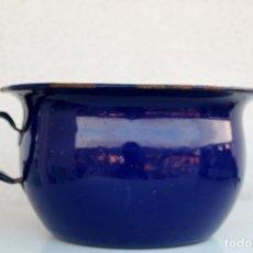 Vintage: ORINAL EN AZUL COBALTO. Lote 174921273