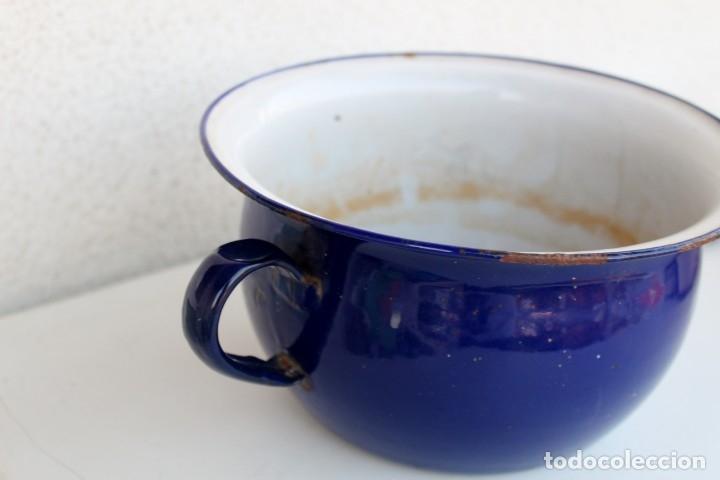 Vintage: Orinal en azul cobalto - Foto 2 - 174921273