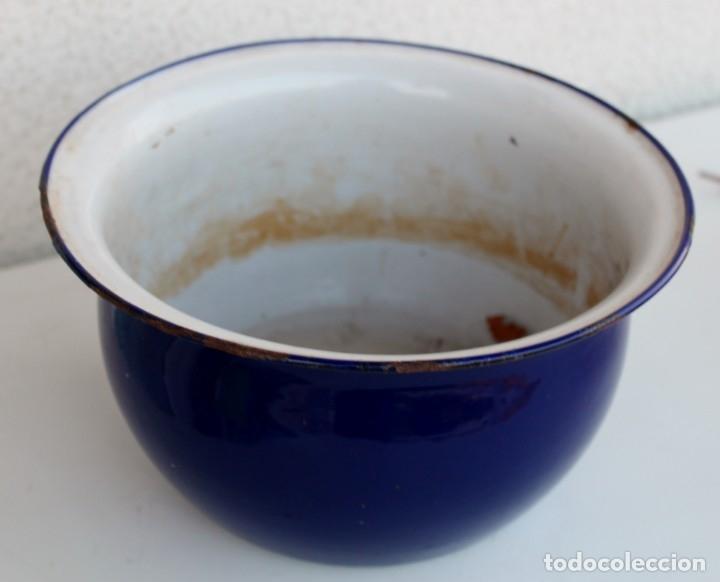 Vintage: Orinal en azul cobalto - Foto 3 - 174921273
