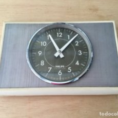 Vintage: RELOJ PARED PHILIPS. AÑOS 60.. Lote 175228393