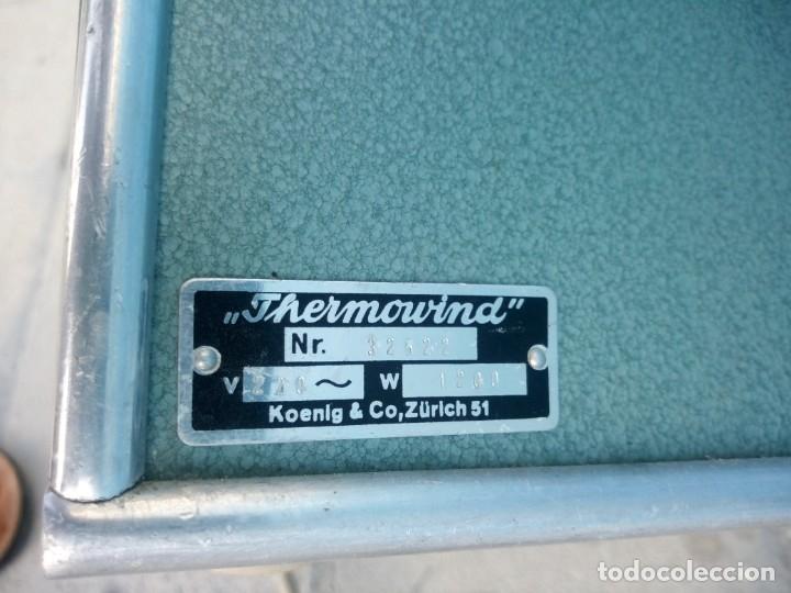 Vintage: ventilador thermowind,koenig & co zurich años 50 - Foto 9 - 175631180