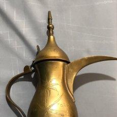 Vintage: TETERA ÁRABES ( ARABIA SAUDITA ) DE COBRE. Lote 176148907