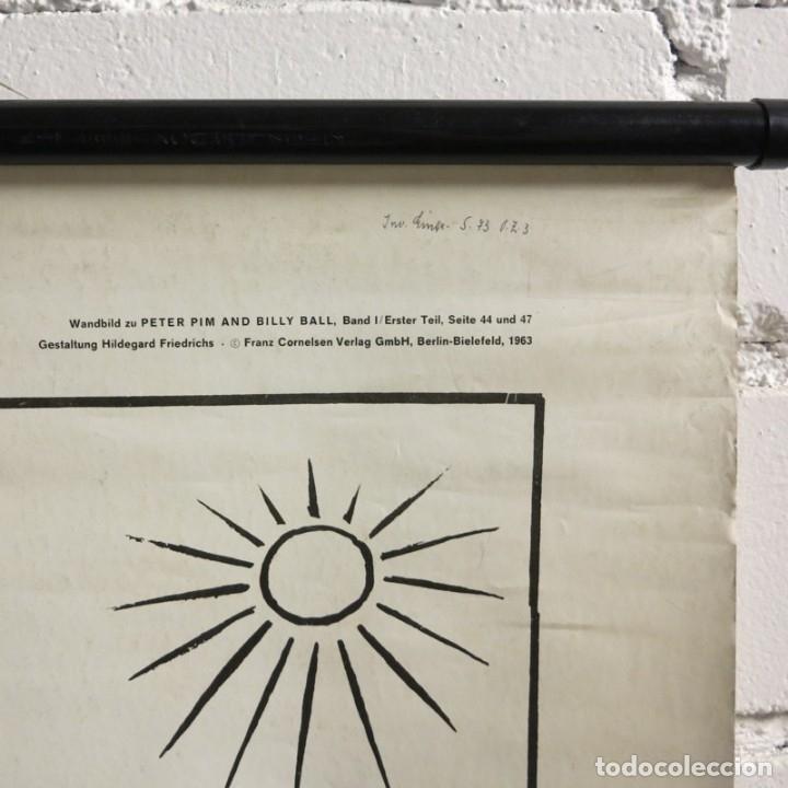 Vintage: Vintage. Familia Pim cartel de Hildegard Friedrichs para clases de ingles. 1950 - 1959 - Foto 8 - 176380939