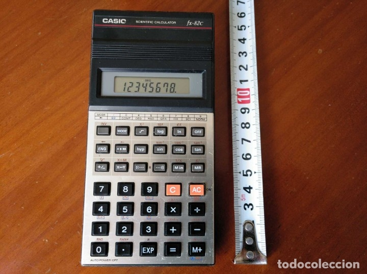 Vintage: CALCULADORA CASIO fx-82C SCIENTIFIC CALCULATOR FUNCIONANDO - Foto 2 - 176670643