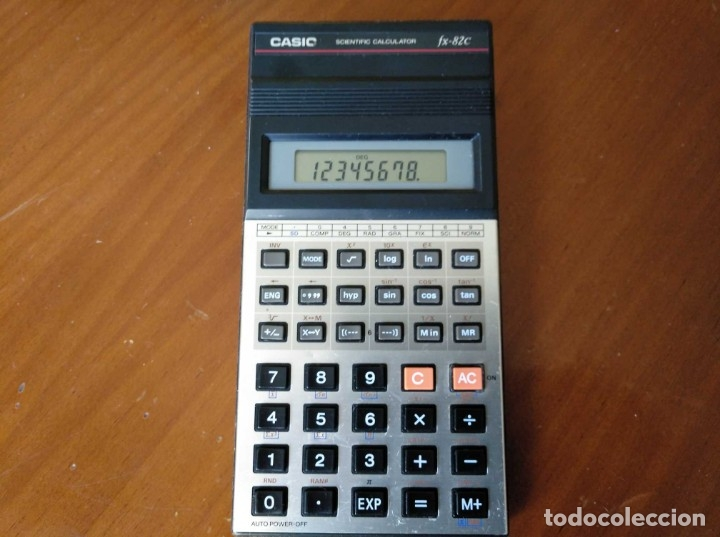 Vintage: CALCULADORA CASIO fx-82C SCIENTIFIC CALCULATOR FUNCIONANDO - Foto 4 - 176670643