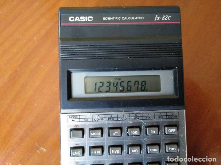 Vintage: CALCULADORA CASIO fx-82C SCIENTIFIC CALCULATOR FUNCIONANDO - Foto 5 - 176670643