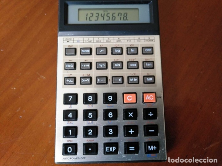 Vintage: CALCULADORA CASIO fx-82C SCIENTIFIC CALCULATOR FUNCIONANDO - Foto 6 - 176670643
