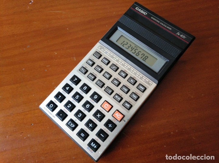 Vintage: CALCULADORA CASIO fx-82C SCIENTIFIC CALCULATOR FUNCIONANDO - Foto 7 - 176670643