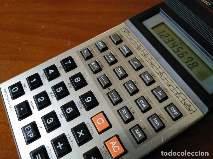 Vintage: CALCULADORA CASIO fx-82C SCIENTIFIC CALCULATOR FUNCIONANDO - Foto 8 - 176670643