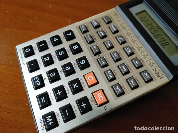 Vintage: CALCULADORA CASIO fx-82C SCIENTIFIC CALCULATOR FUNCIONANDO - Foto 13 - 176670643