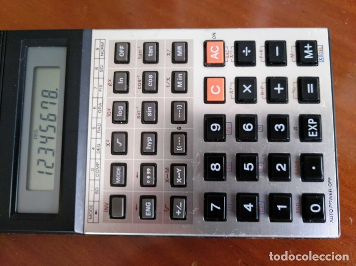 Vintage: CALCULADORA CASIO fx-82C SCIENTIFIC CALCULATOR FUNCIONANDO - Foto 15 - 176670643