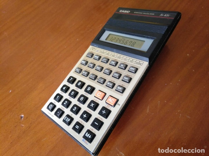 Vintage: CALCULADORA CASIO fx-82C SCIENTIFIC CALCULATOR FUNCIONANDO - Foto 24 - 176670643