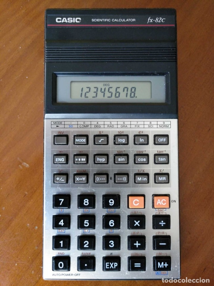 Vintage: CALCULADORA CASIO fx-82C SCIENTIFIC CALCULATOR FUNCIONANDO - Foto 26 - 176670643
