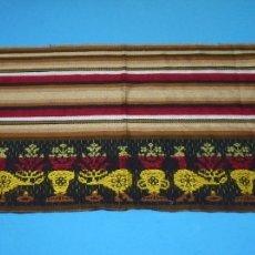 Vintage: RETAL DE TELA DE TEJIDO ALPUJARREÑO.. Lote 176705647
