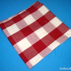 Vintage: RETAL DE TELA A CUADROS.SIN USO.130 X 130 CM.. Lote 176705665