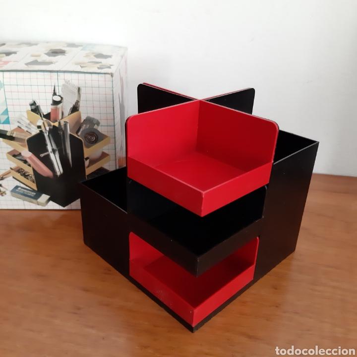Vintage: Organizador De Escritorio Modular/Lapicero Vintage - Foto 4 - 176779612