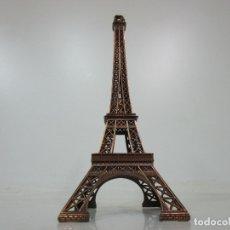 Vintage: DECORATIVA TORRE EIFEL, PARÍS - METAL - VINTAGE - AÑOS 70. Lote 176876517