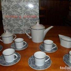 Vintage: JUEGO DE CAFÉ DE VICTORIO & LUCCHINO A ESTRENAR. Lote 176964065