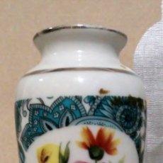 Vintage: MINIATURA JARRON CON BASE METAL. Lote 177620573