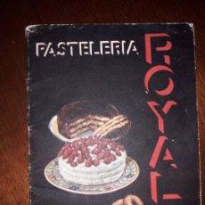 Vintage: FOLLETO PUBLICIDAD ROYAL. Lote 178121138