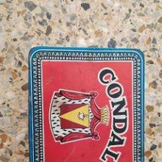 Vintage: LATA TE CONDAL PUBLICIDAD AÑOS 50 ORIGINAL. Lote 178630992