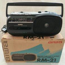 Vintage: RADIOCASSETTE AIWA SIN USO. Lote 178722220