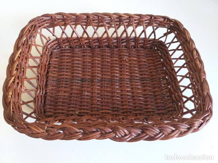 Vintage: Cesta de mimbre para pan - Foto 3 - 178783998