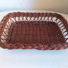 Vintage: CESTA DE MIMBRE PARA PAN. Lote 178783998