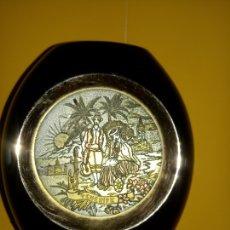Vintage: M - RECIPIENTE PORCELANA - EL ARTE DE CHOKING - TENERIFE - VER DESCRIPCION - 10 X 9 CMS. Lote 178855657