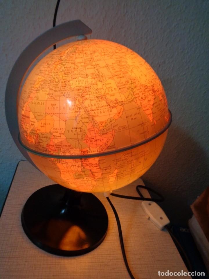 Vintage: GLOBOS CON LUZ INTERIOR, DIAMETRO 21 cm, ANTIGUO ALEMAN - DDR - Foto 2 - 179039033