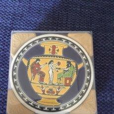 Vintage: JUEGO 6 POSAVASOS GRIEGOS. Lote 179082447