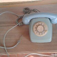 Vintage: TELÉFONO CITESA FABRICADO EN MÁLAGA RUEDA DE MARCACIÓN. TURQUESA VERDE CLARO CELESTE. Lote 179391563